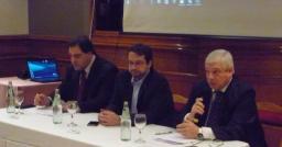 Marco Lavagna, diputado y director de la consultara Ecolatina, disertó sobre el blanqueo de Capitales.