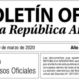 EMERGENCIA PÚBLICA – Decreto 319/2020
